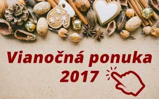 Vianočná ponuka 2017