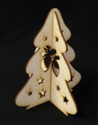 Vianočný stromček z preglejky