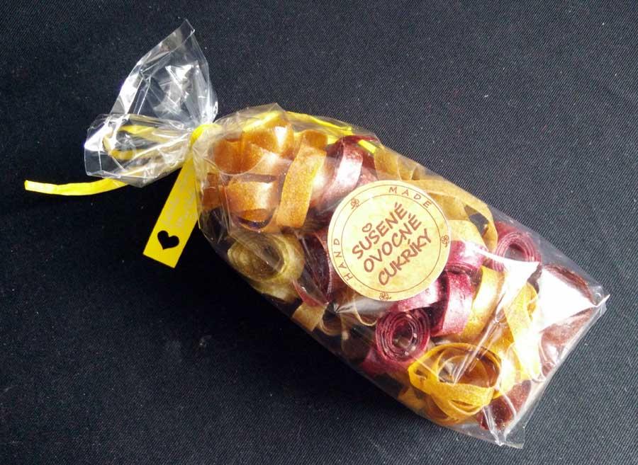 Sušené ovocné cukríky