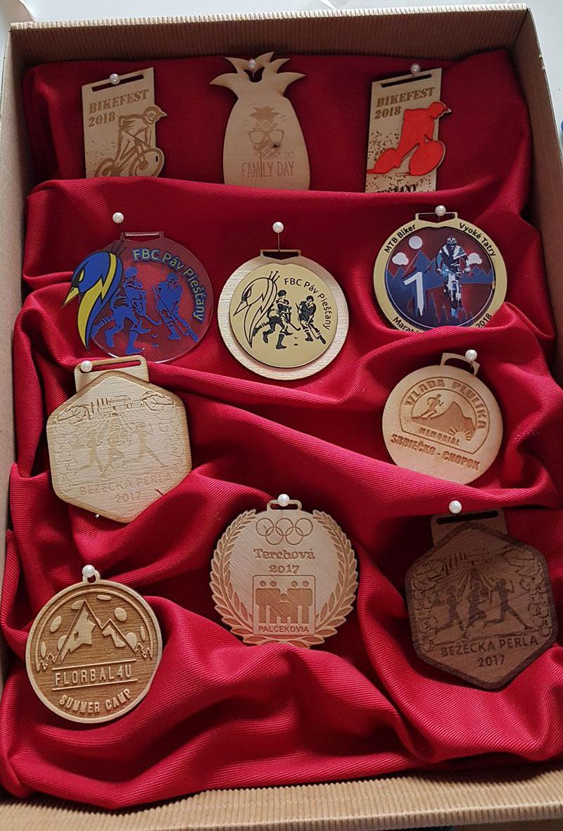 Medaile na zákazku